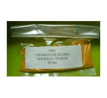 CROMATO DE PLOMO (AMARILLO TRANSP)(50 GR