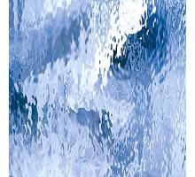 AZUL PALIDO WATERGLASS 20X28 CM
