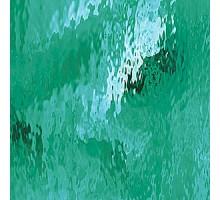 VERDE TURQUESA WATERGLASS 20X28 CM