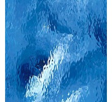 AZUL CLARO WATERGLASS PROMOCION 20X30 CM