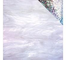 BLANCO PLUMA IRIDISCENTE 20X30 CM