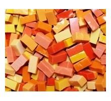 Mosaico Smalti Amarillos Y Naranjas (100 Grs)
