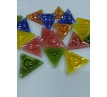 Teselas Triangulos De 60º De 25 Mm X 20 Unid