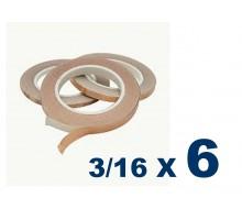 Cinta De Cobre Eco De 3/16 (4,76mm) X 6 Unidades