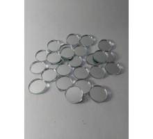 Espejos Circulos De 12 Mm X 25 Unid