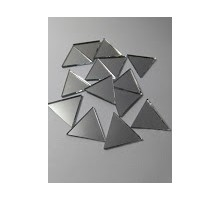 Espejos Triangulos De 60º De 20 Mm X 100 Unid