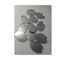 Espejos Ovalos Nro. 0 De 21x30 Mm X 25 Unid