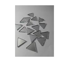 Espejos Triangulos De 60º De 15 Mm X 100 Unid