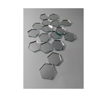 Espejos Hexagonos 15 X 50 Unid