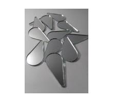Espejos Gotas Nro. 1 De 20x38 Mm X 25 Unid