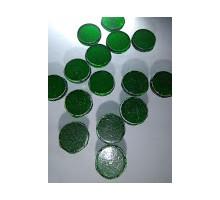 Circulo Verde Cromo P/float 12 Mm