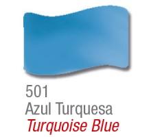 Barniz Vitral Acrilex Azul Turquesa X 37ml
