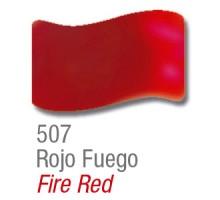 Barniz Vitral Acrilex Rojo Fuego X 37ml