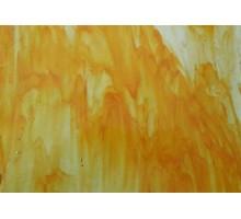 Amarillo Con Naranja Liso Prisma 22,5 X 27 Cm
