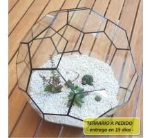 Terrario 13c De 35 Cm De Diam. A Pedido