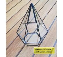 Terrario 15c De 23 X 31,5 Cm A Pedido