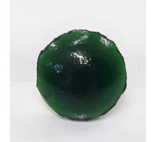 Nugget Verde Circular 25 Mm Grande 100 Grs