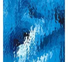 AZUL MEDIANO WATERGLASS 20X28 CM