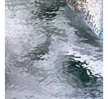 WATERGLASS TRANSPARENTE IRIDISCENTE 20X28 CM