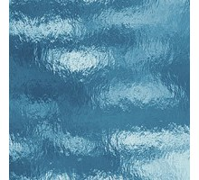 Azul Agua Catedral Rugoso 20x30 Cm