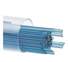 Hilo De Vidrio Azul Turquesa  2 Mm