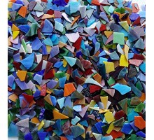 Vidrios Chicos Para Mosaico Pote 750g