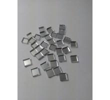 Espejos Cuadrados De 8x8 Mm X 100 Unid