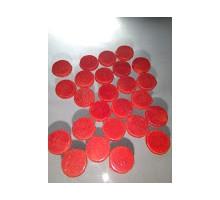 Circulo Rojo Opal P/float 12 Mm