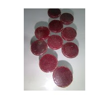 Circulo Rojo Opal P/float 16 Mm