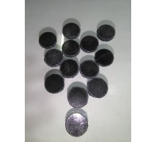 Circulo Negro Brillante P/float 16 Mm