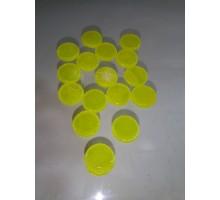 Circulo Amarillo Opal P/float 16 Mm