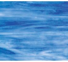 Azul Cielo C/ Blanco Opal Wissmach 23,5x27,5 Cm