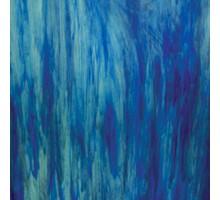 Azul Claro/azul Oscuro C/ Blanco Nube Wissmach 23,5x27,5 Cm