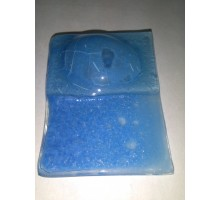 Esmalte P/float Celeste C/burbujas  (25g)
