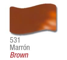 Barniz Vitral Acrilex Marron X 37ml
