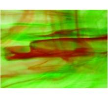 Verde Veteado Con Ambar Oscuro Oferta 25 X 30 Cm