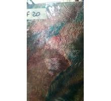 Azul/purpura/ambar Con Textura 20x30 Cm