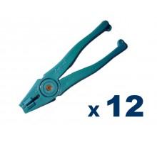 Pinza De Abrir Vidrio Leponitt Blue Runner (plastico) X 12 Unidades