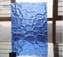 Vidrio Oceanic Azul 4 Mm 37.5 X 25 Cm